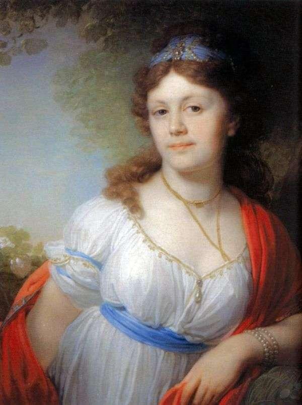 エリザベスG. Temkina   ウラジミールBorovikovskyの肖像