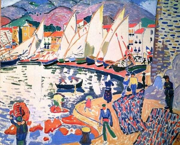 帆を乾かす   Andre Derain