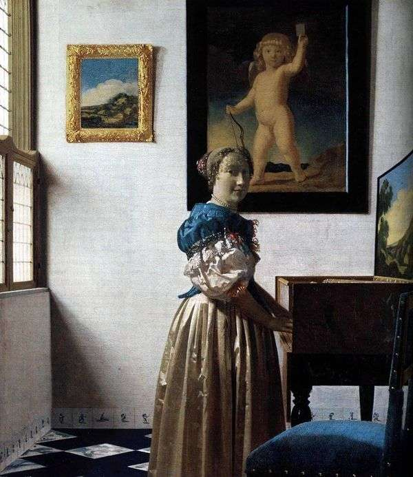 Virginia Lady   Jan Vermeer