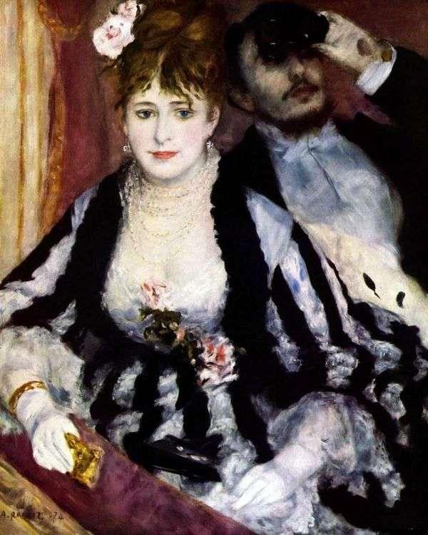シアターベッド   Pierre Auguste Renoir
