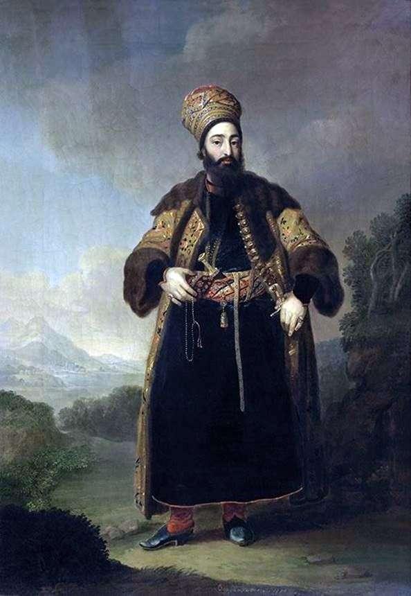 Murtazy Kuli Khan   ウラジーミル・ボロビコフスキーの肖像画