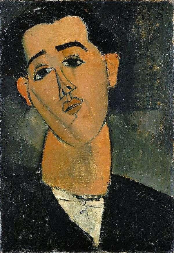 Juan Gris   Amedeo Modiglianiの肖像