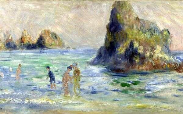 エチュードオイル   Pierre Auguste Renoir