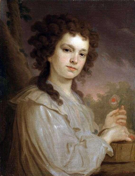 K. K. フィリッポバ   ウラジミールボロビコフスキーの肖像画