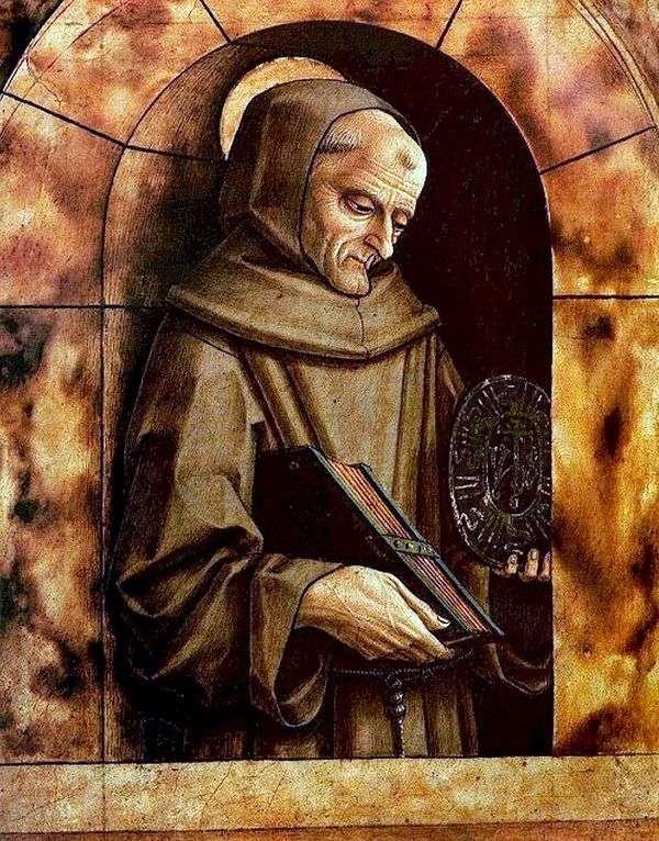 シエナの聖ベルナルディン   カルロクリヴェリ