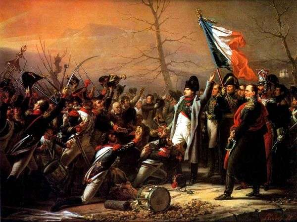 エルバ島からナポレオンの帰還   ヴァシリーイワノビッチシュテルンベルク