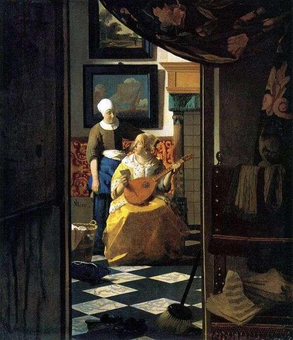 愛のメッセージ   Jan Vermeer
