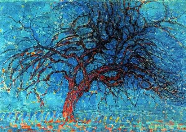 マホガニー   Peter Cornelis Mondrian