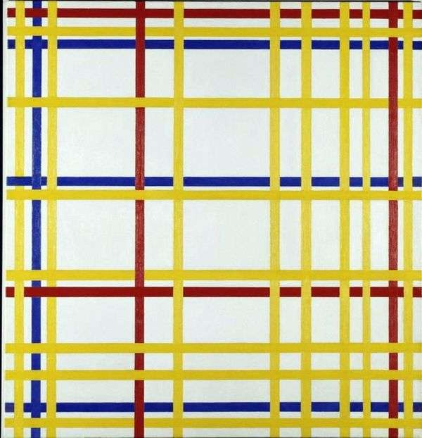 ニューヨーク   Peter Cornelis Mondrian