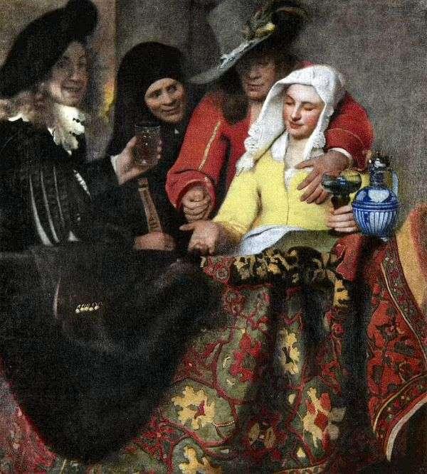 ポン引きで   Jan Vermeer