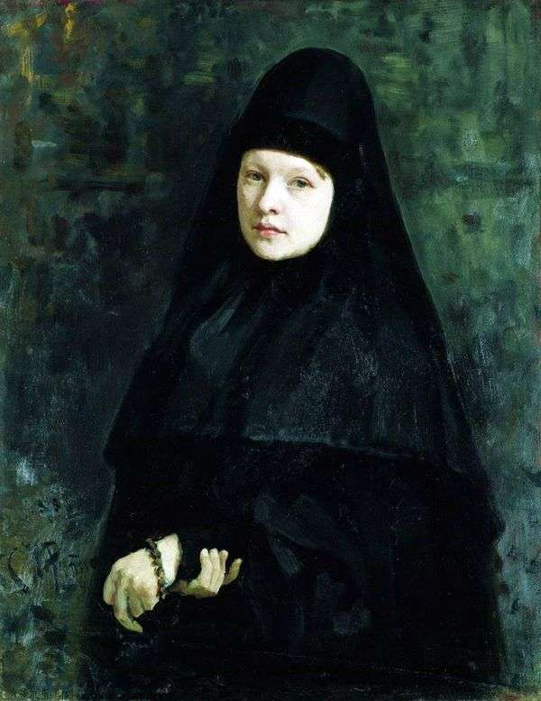 修道女   イリヤ・レーピン