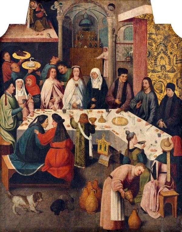カナリア・イン・ガリラヤ   Hieronymus Bosch