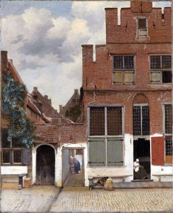 デルフトストリート   ヤンフェルメール
