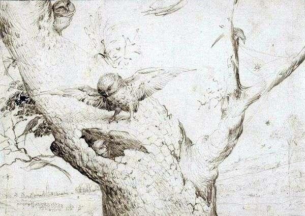 フクロウの巣   ヒエロニムス・ボッシュ