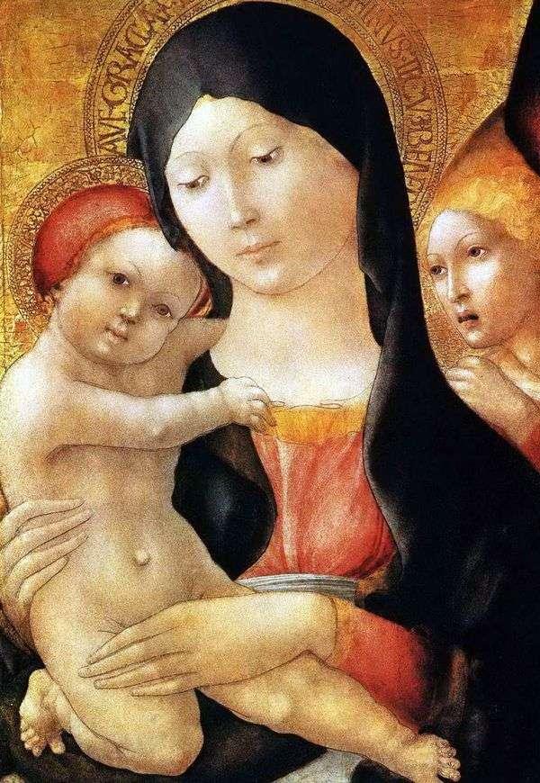 赤ちゃんと天使とマリア   リベラル・ダ・ヴェローナ