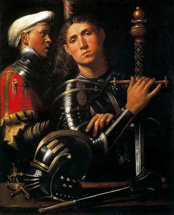 騎士と戦士   ジョルジョーネ