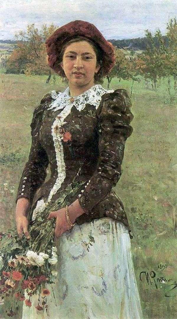 オータムブーケ(Daughter Vera)   Ilya Repin