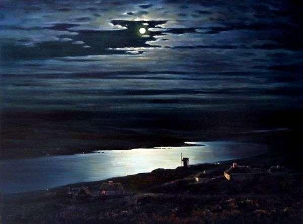 月夜の夜の夜   Arkhip Kuindzhi