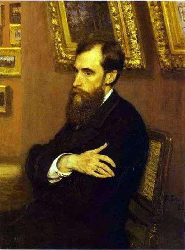 Pavel Mikhailovich Tretyakov   イリヤ・レーピン