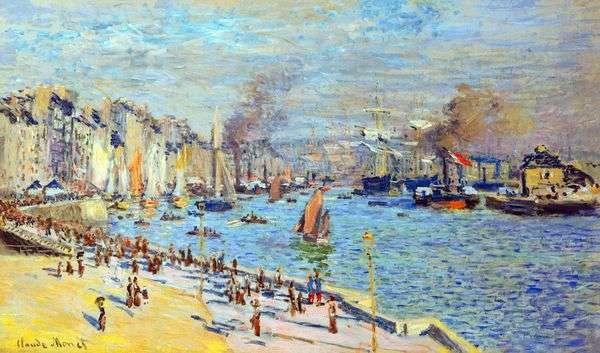 ルアーブル   クロード・モネの旧港の眺め