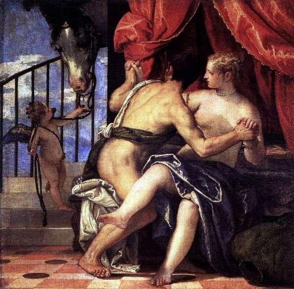 キューピッドと馬のいる金星と火星   パオロ・ヴェロネーゼ