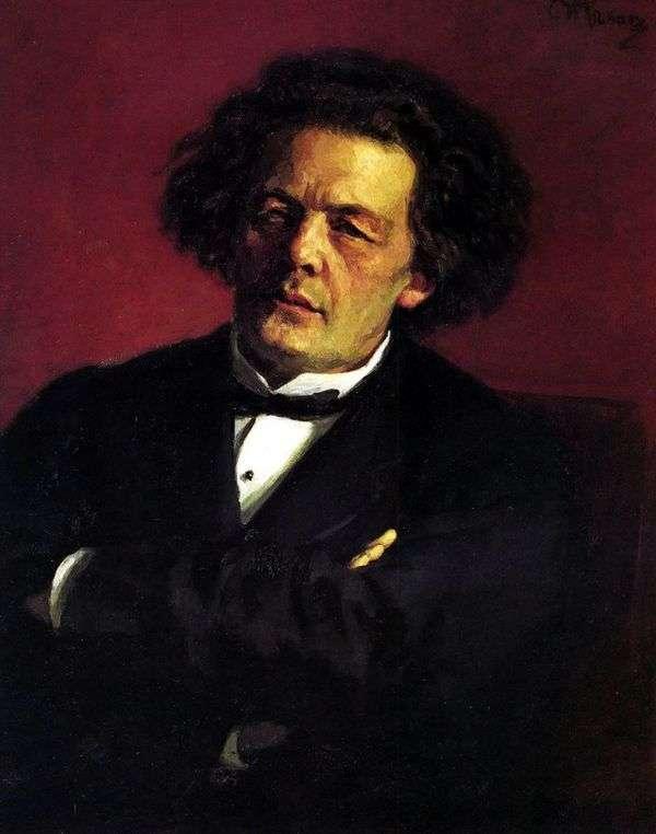 A. G. Rubinsteinの肖像   Ilya Repin