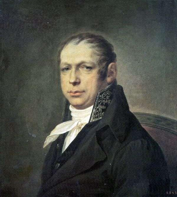 建築家エイドリアンDmitrievich Zakharov   Stepan Schukinの肖像
