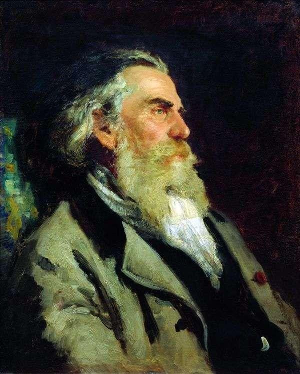 A. P. Bogolyubov   イリヤ・レーピンの肖像