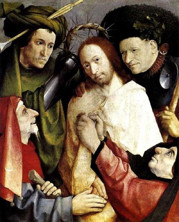 いばらの冠を冠する   Hieronymus Bosch