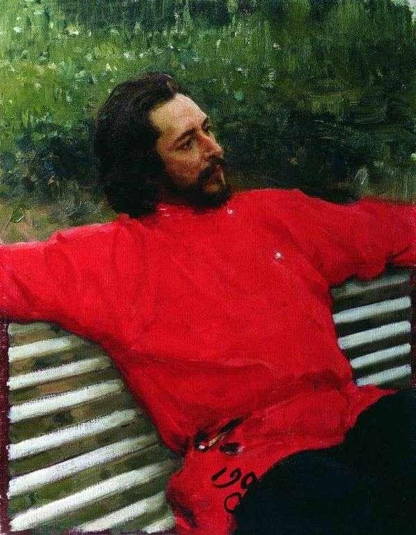 Andreev   Ilya Repinの肖像