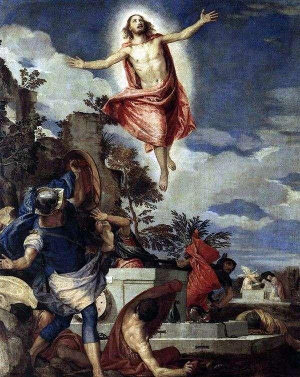 キリストの復活   パオロ・ヴェロネーゼ