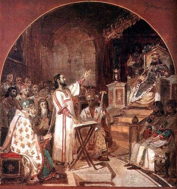 ニカエアの最初のエキュメニカル評議会   ヴァシリー・スリコフ