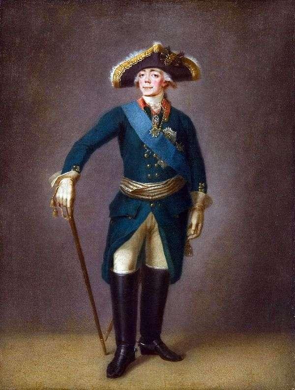 Paul I   Stepan Schukinの肖像