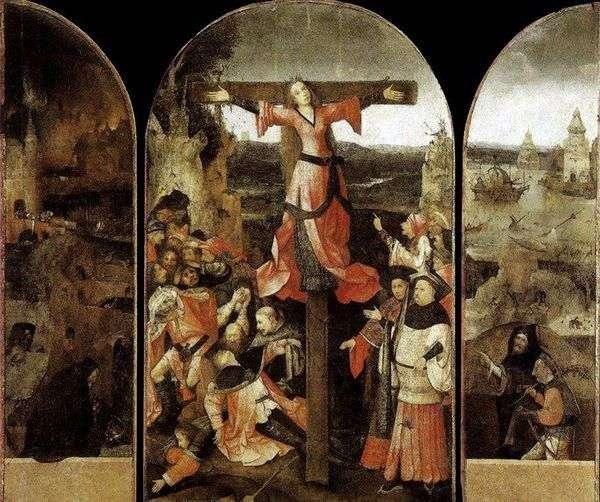 聖リベラティの殉教。トリプティク   ヒエロニムス・ボッシュ
