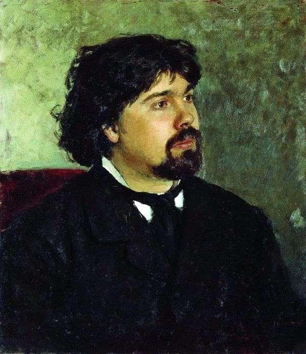 V. S. Surikov   Ilya Repinの肖像