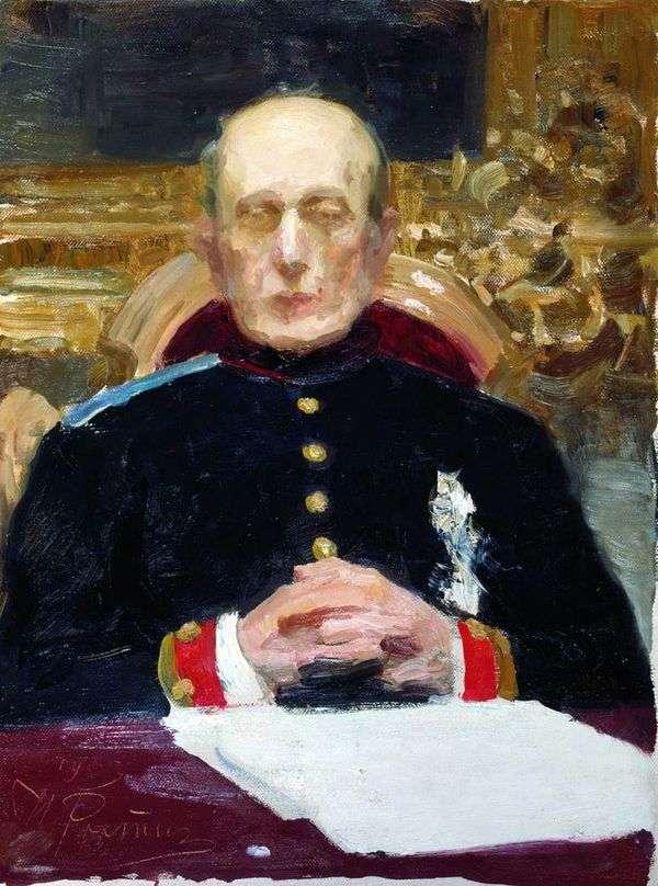 K. P. Pobedonostsev   Ilya Repinの肖像