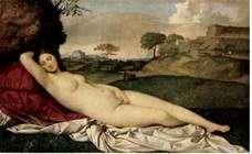 眠る金星   ジョルジョーネ