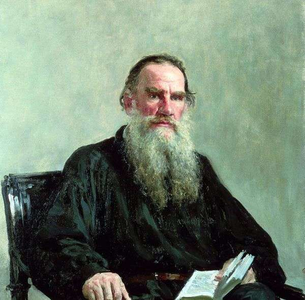L. N. トルストイの肖像   Ilya Repin