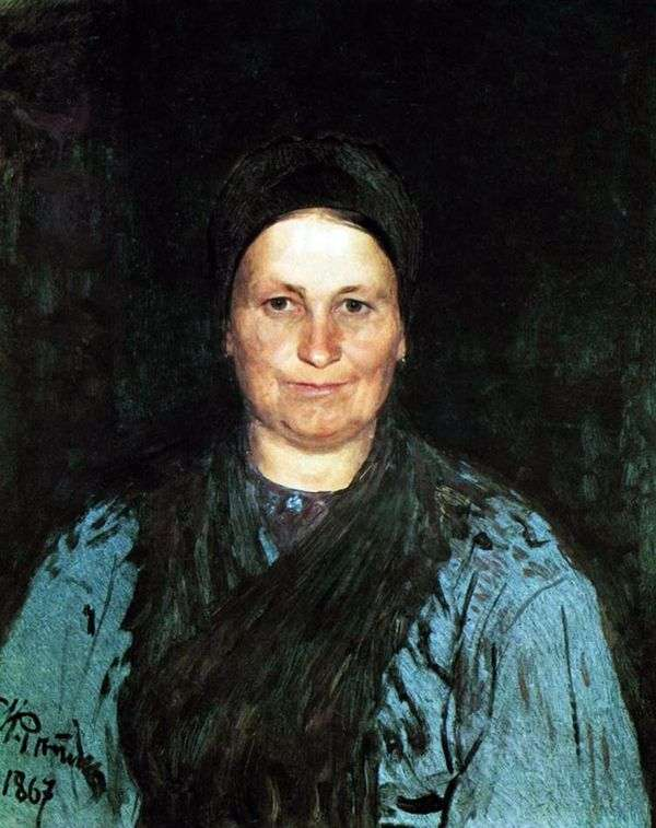 母の肖像   イリヤ・レーピン