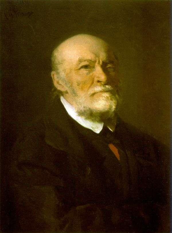 N. I. Pirogov   Ilya Repinの肖像