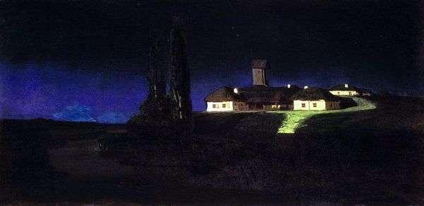 ウクライナの夜   Arkhip Kuindzhi