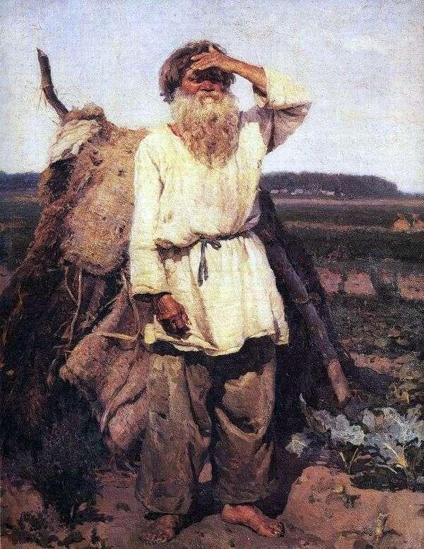 古い庭師   ヴァシリー・スリコフ