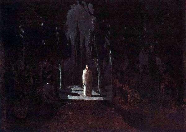 ゲッセマネの園のキリスト   Arkhip Kuindzhi