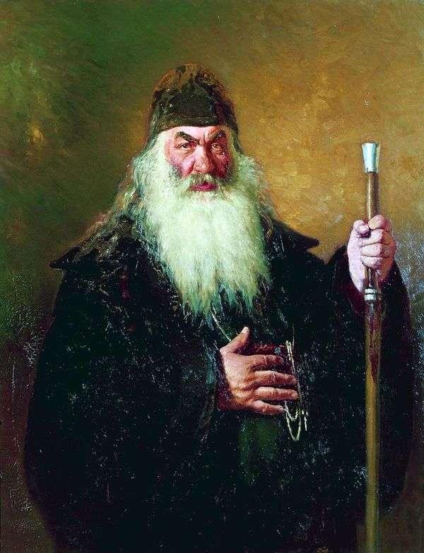 Protodeacon   Ilya Repinの肖像