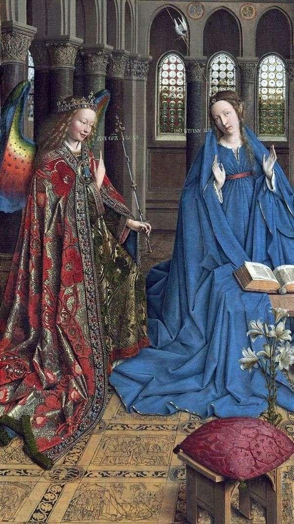 受胎告知   Jan van Eyck