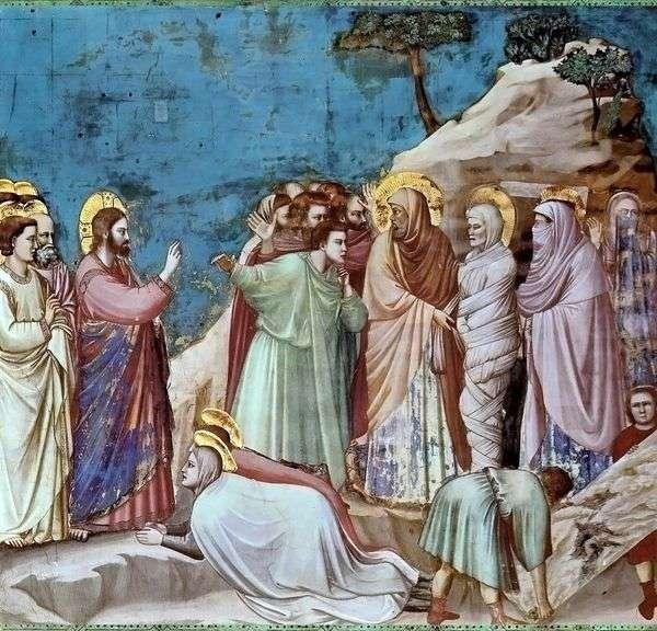 ラザロの復活   Giotto