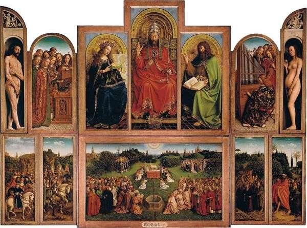 Ghent Altar   オープン祭壇ビュー   Jan van Eyck