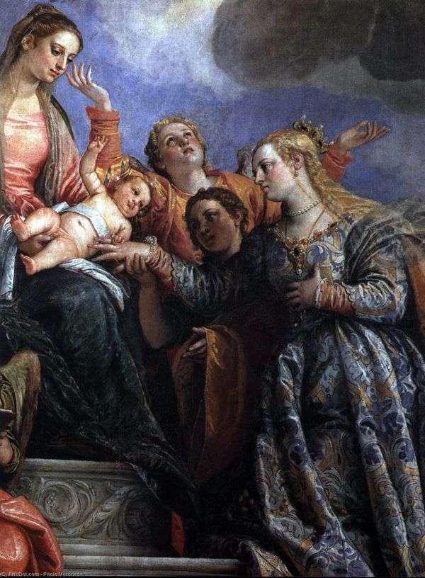 聖カタリナ婚約者   パオロ・ヴェロネーゼ