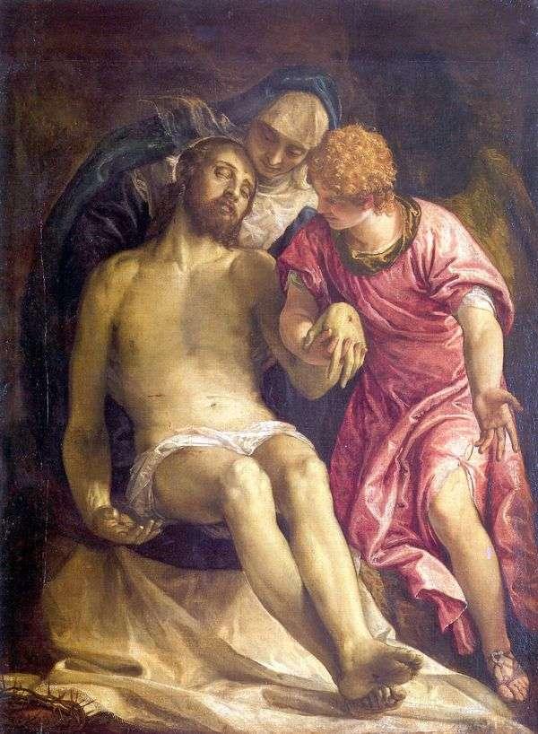 キリストの嘆き   パオロ・ヴェロネーゼ