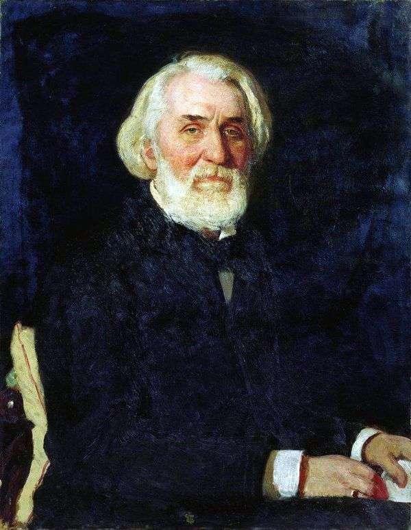 Turgenev   イリヤ・レーピン
